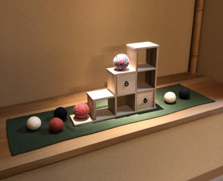 ことひら温泉御宿敷島館 階段 踊り場の飾り