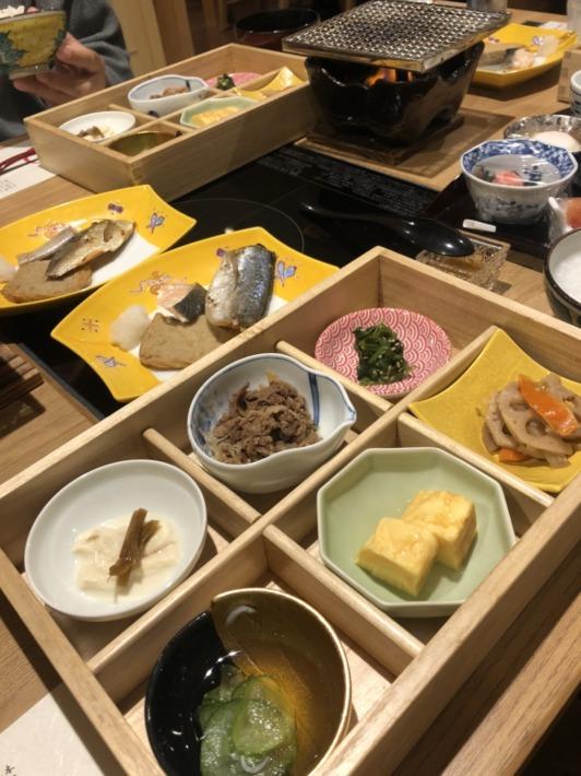 ことひら温泉御宿敷島館 朝食