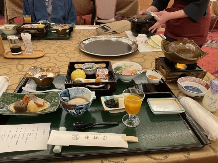 佳松園 朝食