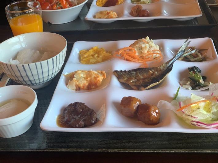 熊野倶楽部 朝食