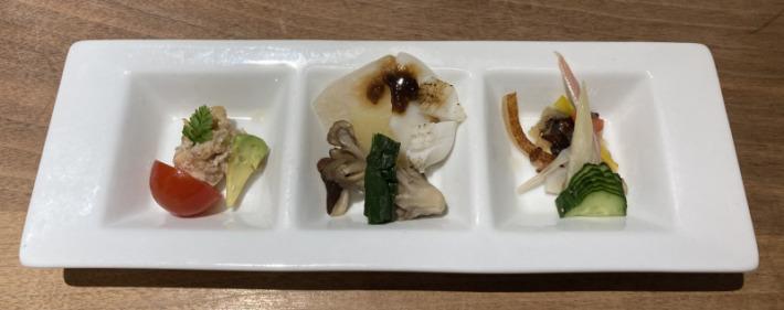 ホテル蟹御殿 夕食