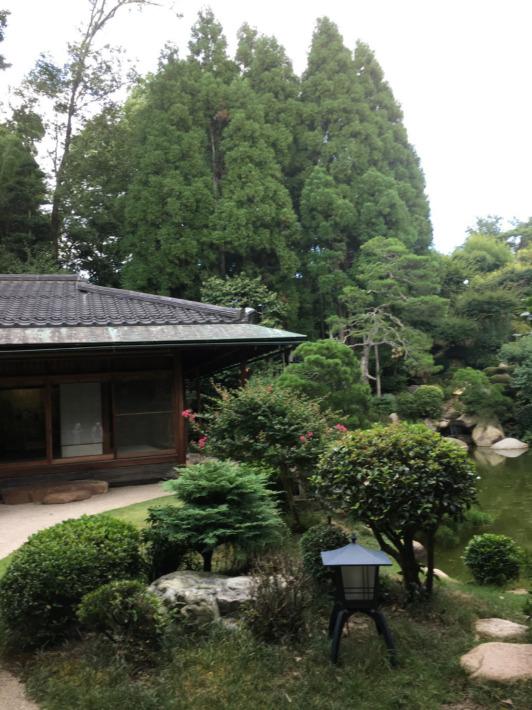湯之助の宿長楽園 日本庭園