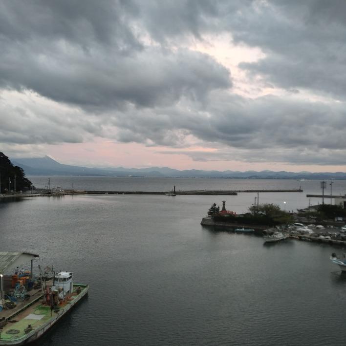 美保館 新館 客室 「出雲」からの眺め