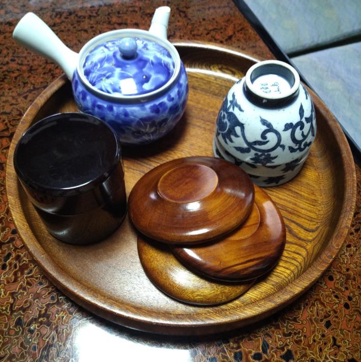 紅葉館 客室 お茶