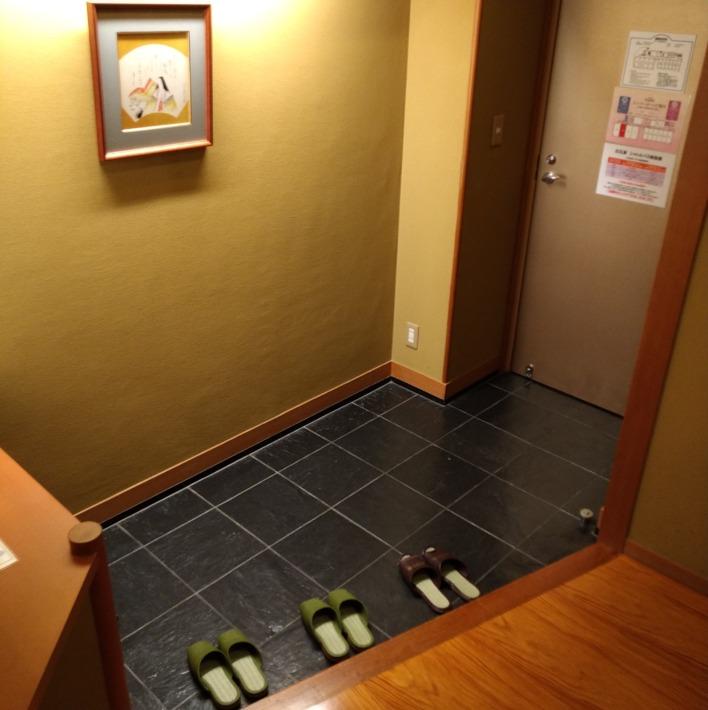 白石家 客室 玄関