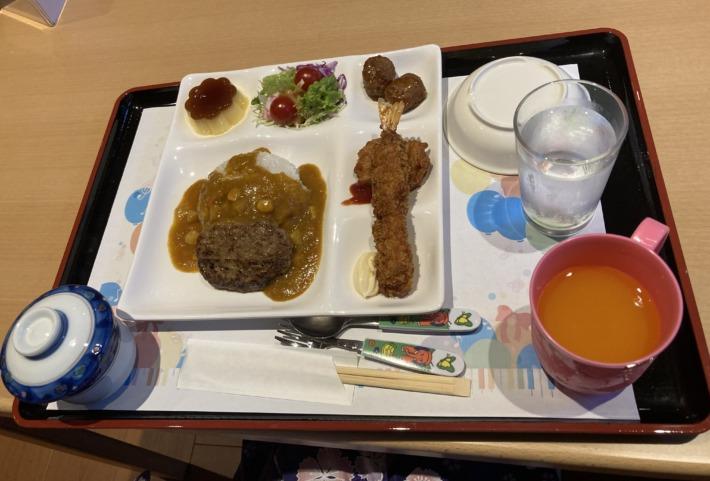 清嵐荘  レストラン『稲田姫』夕食 子ども用
