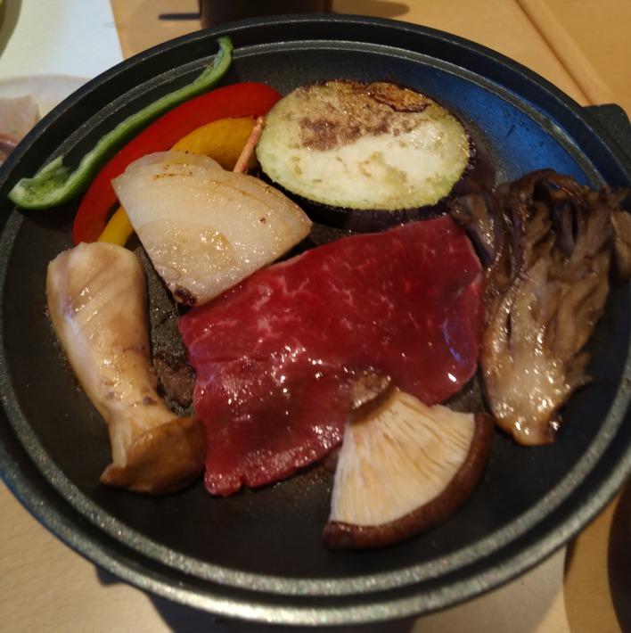 清嵐荘  レストラン『稲田姫』夕食