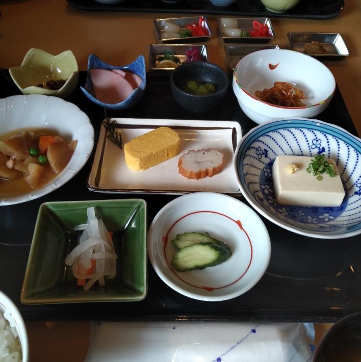 清嵐荘 朝食