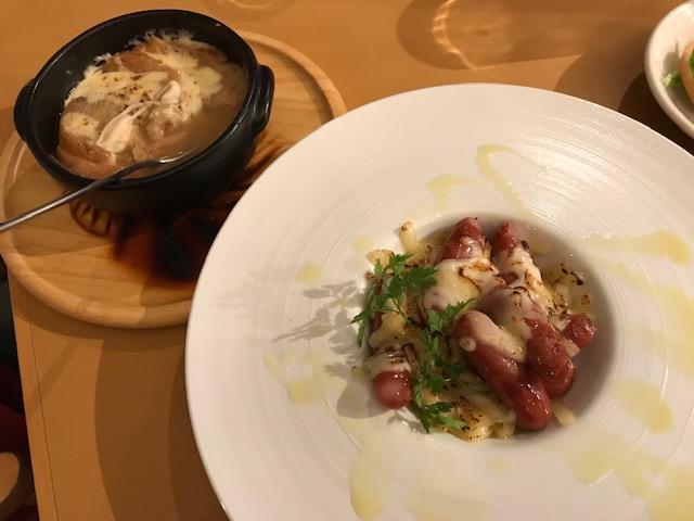 星野リゾート トマム ザ・タワー   グリーンキッチン 夕食