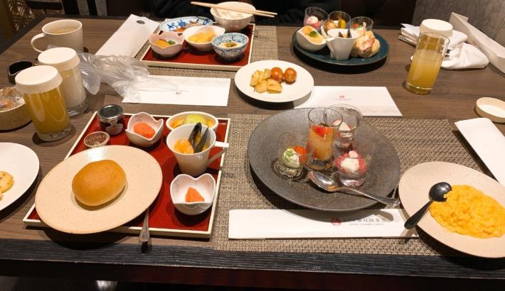 ホテル雅叙園東京 朝食