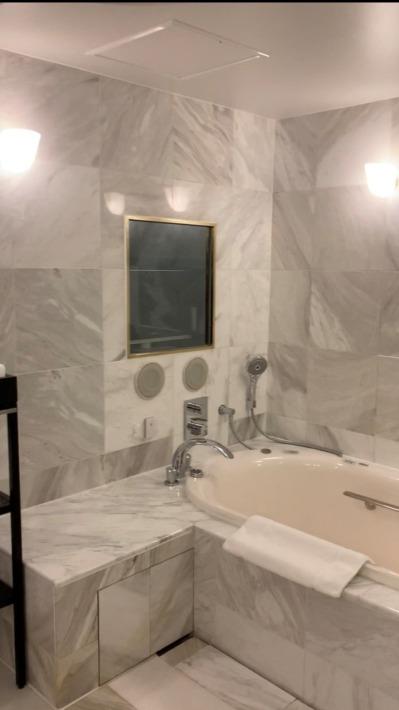 ホテル雅叙園東京 客室 浴室